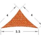 4x4x5.5m Triangle DIY Shade Sail